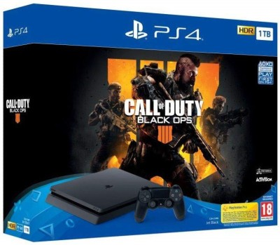 Sony PlayStation 4 (PS4) Slim 1 TB with Call of Duty: Black Ops 4