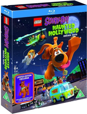 LEGO Scooby-Doo!: Haunted Hollywood - Limited Edition (Blu-ray + Free - Lego Friends Are Forever DVD) (2-Disc Set Includes Scooby-Doo Lego Minifigures) (Slipcase Packaging + Fully Packaged Import)