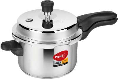 Pigeon Inox 3 L Pressure Cooker with Induction Bottom