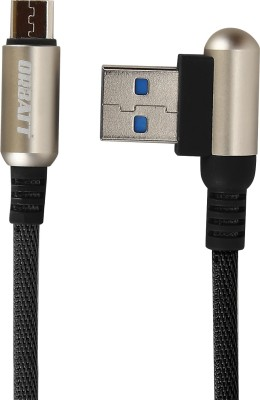 Orbatt USB7 1 Meter Metal Braided Fast Charging & Data Transfer Certified Micro USB Cable Micro USB Cable