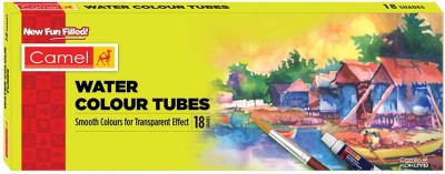 Camel Student Water Colour Tubes - 18 Shades