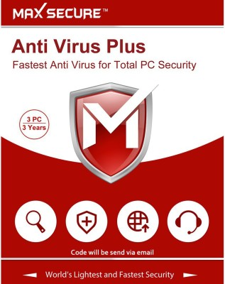 Max Secure 3 User 3 Years Anti-virus Activation Code