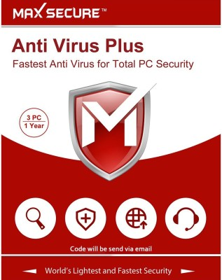 Max Secure 3 User 1 Year Anti-virus Activation Code