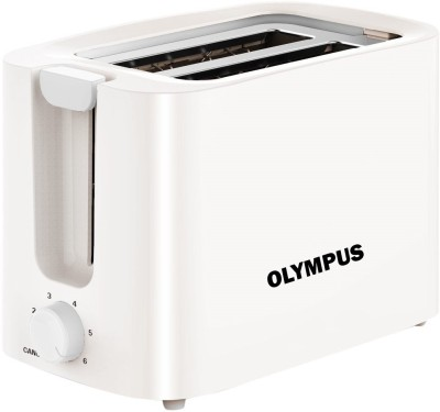 Olympus OLPOPTWHT1 750 W Pop Up Toaster