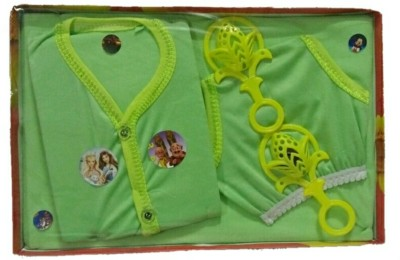 Bagani New Born Baby Gift Set for 4 Piece