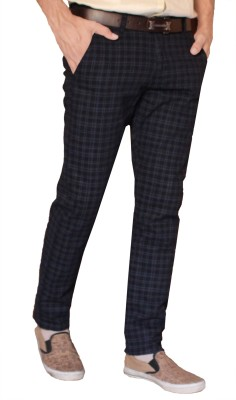 FUBAR Regular Fit Men Blue Trousers