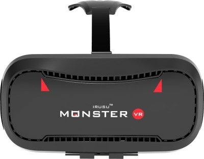 Irusu Monster vr headset Box with built in touch button virtual reality headset for all mobiles