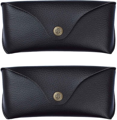 AT TECH Pack of 2 Faux Leather Case Pouch FOR SUNGLASSES Pouch