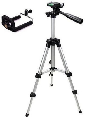 Perfect Nova (Device Of Man) Tripod-3110 Portable Adjustable Aluminum Lightweight Camera Stand With Three-Dimensional Head & Quick Release Plate For Video Cameras and mobile Tripod