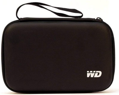WD presents DLT Shockproof Black 2.5 inch Hard Disk Case for External Hard Disk Cover Pouch Water Proof,Shock Proof for all hardisk 2.5 hardisk cover