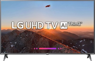 LG 108cm (43 inch) Ultra HD (4K) LED Smart TV