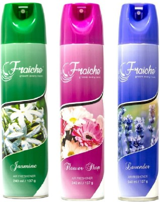 fraiche flower, rose, lavender Spray