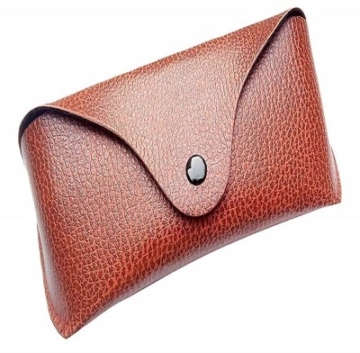 AT TECH Leather Case || Cover || Pouch For Eyewear || Sunglasses || Spectacles || Goggles Pouch