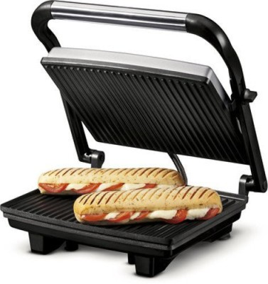 Nova 2 Slice Panini Grill Sandwich Press Grill, Toast
