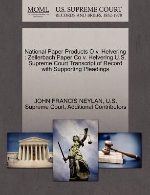 National Paper Products O V. Helvering