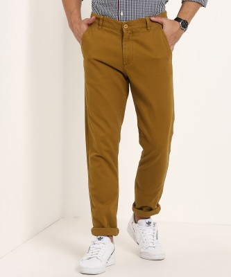 United Colors of Benetton Regular Fit Men's Brown Trousers