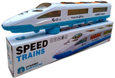 Gooyo Bump and Go Speed Train with 3D Light & Music