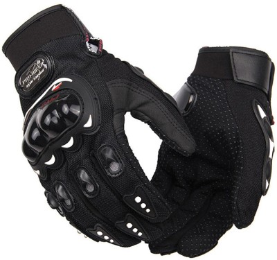 AdroitZ Full Riding/Driving/Cycling Sports Gloves/Gloves Riding Gear_9006 Riding Gloves (XXL, Black)