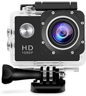 Spring Jump 1080P Action Camera Effective 12Mp 1080p Wide Angle Lens Waterproof Sports Camera Sports and Action Camera