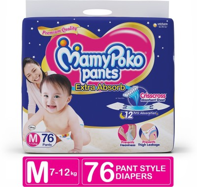 MamyPoko Pants Extra Absorb Diaper - M