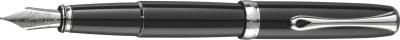 Diplomat Excellence A2 Black Lacquer (M) Fountain Pen