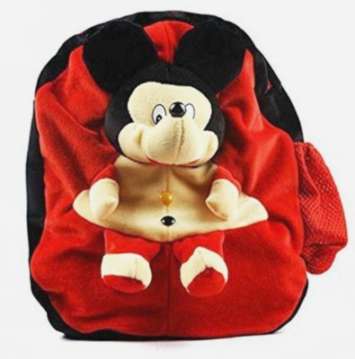 Lata Cute Mickey Mouse Bag Pack for Naughty Toddlers Plush Bag
