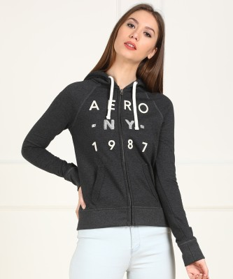Aeropostale Full Sleeve Printed Women Sweatshirt