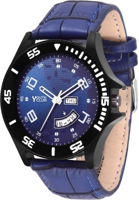 DD-3072BLKBU DAY AND DATE DISPLAY Day & Date Watch  - For Men