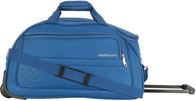 Kamiliant by American Tourister GAHO WHEEL DUFFLE 62 cm-TEAL BLUE Duffel Strolley Bag