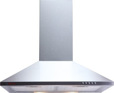Seavy Mif Stainless Steel 60cm, 800m3/hr Air Suction Wall Mounted Chimney