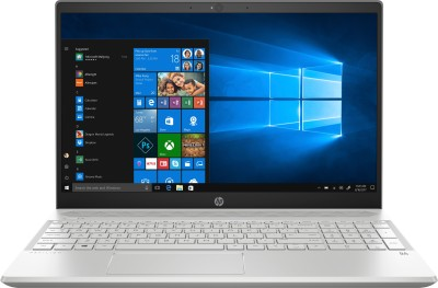 HP Pavilion 15 Ryzen 5 Quad Core - (8 GB/1 TB HDD/128 GB SSD/Windows 10 Home) 15-cw0027AU Laptop