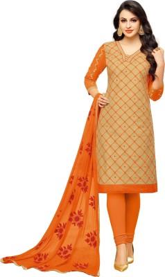 Pisara Cotton Embroidered Salwar Suit Material