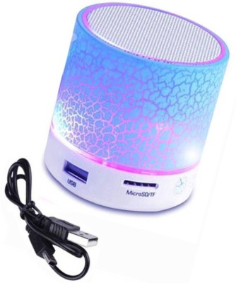 BIRATTY Portable Wireless Stereo Sound Rechargeable Led Bluetooth Speakers 3 W Bluetooth  Speaker
