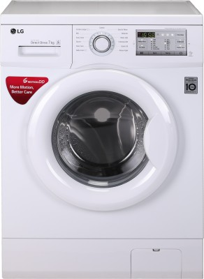 LG 6 kg Fully Automatic Front Load Washing Machine with In-built Heater White
