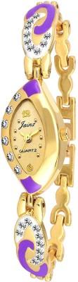 JAINX JW554 Golden Dial Watch  - For Women