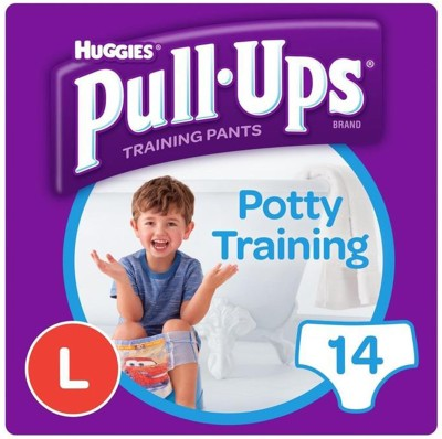 Huggies Baby Pull Ups Training Pants Adult Diapers - L