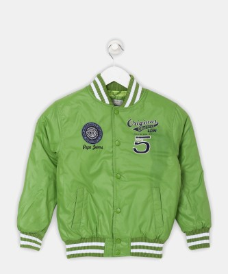 Pepe Jeans Full Sleeve Solid Boys Jacket