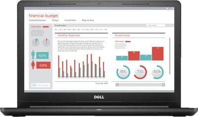Dell Vostro 15 3000 Series Core i3 7th Gen - (4 GB/1 TB HDD/Windows 10 Home) 3568 Laptop
