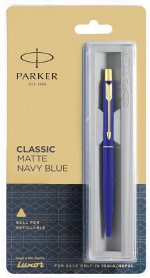 Parker CLASSIC MATT NAVY BLUE GT Ball Pen