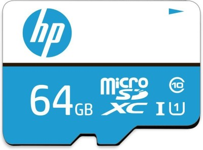 HP U1 64 GB MicroSDHC Class 10 100 Mbps  Memory Card