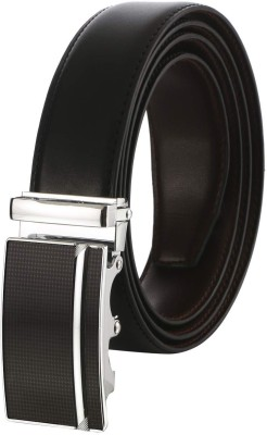 ZORO Men Evening Black Artificial Leather Belt