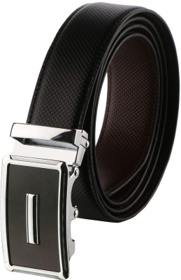 ZORO Men Casual Black Artificial Leather Belt