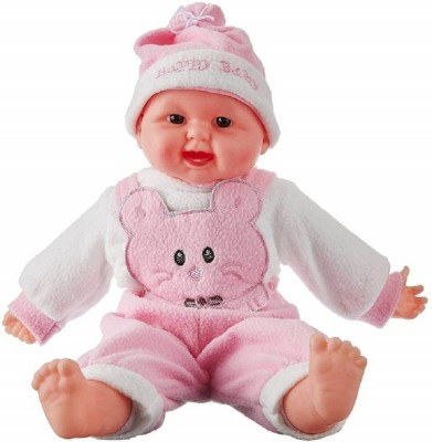 kajal toys Musical Happy Laughing Baby Boy (Pink)