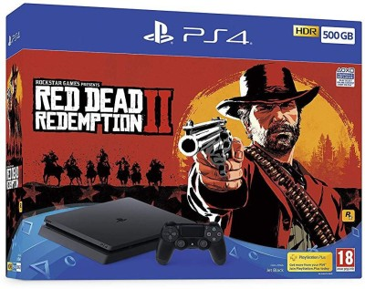 Sony PlayStation 4 (PS4) 500 GB with Red Dead Redemption 2
