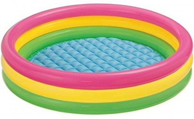 BE YOU OWN LABEL 3FT BABY BATH TUB POOL FOR KIDS( MULTICOLOR) Inflatable Pool