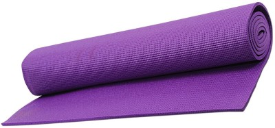 Heirloom Quality 6 MM Double Non Slip Pilates Mat and Exercise Mat Purple 6 mm Yoga Mat