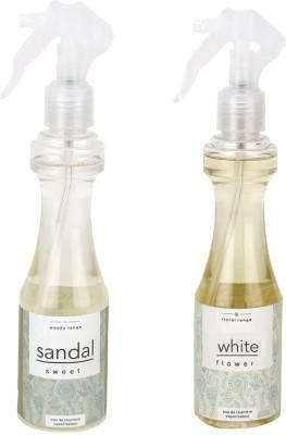 Airroma White Flower, Sweet Sandal Spray