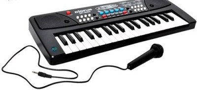 Firstep 37 Key Piano Keyboard Toy with DC Power Option, Recording and Mic