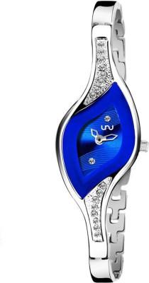 UNU Blue Dial Oval Girls Princess Watch  - For Women