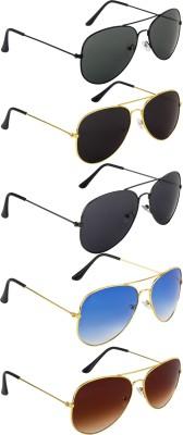 NuVew Aviator Sunglasses